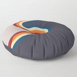 Simply Retro Curve Split Floor Pillow