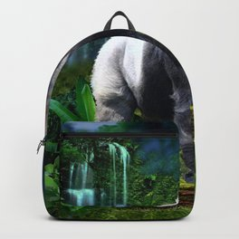Silverback Gorilla Guardian of the Rainforest Backpack