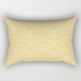 Yellow Boheman Design B12 Rectangular Pillow