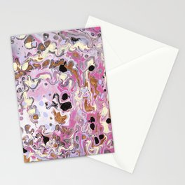 Pink Dalmation Stationery Cards