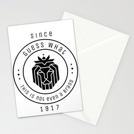 Brand Lion Animal Saying Statement Sarcasm Irony Stationery Cards