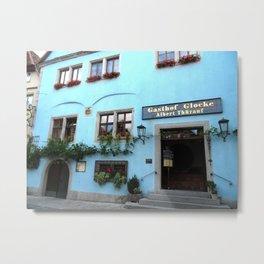 Gasthof Glocke Metal Print