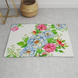 Vintage Floral Pattern No. 7 Rug