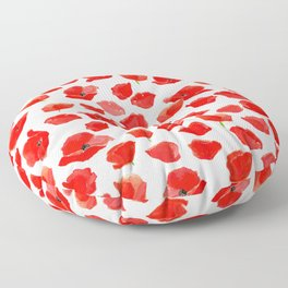 Poppy Field Floor Pillow