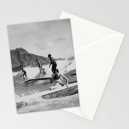 Vintage Surfing Hawaii Stationery Cards