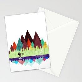 MTB retro Trails Stationery Cards