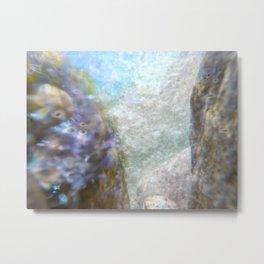 Aqua 3 Metal Print