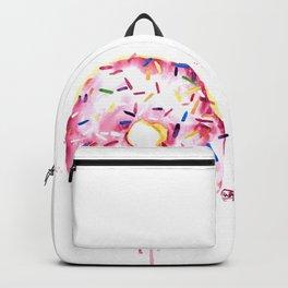 "Donut / Doughnut Watercolor Painting ""Oh Doughnuts"" Backpack"