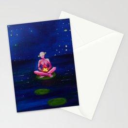 Glass Stars Stationery Cards
