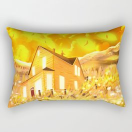 Look At The Sky, It's Looking Back  Rectangular Pillow