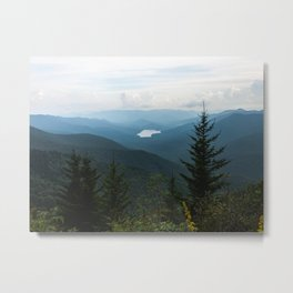 Smoky Mountain National Park -  Mountain Lake Landscape Metal Print