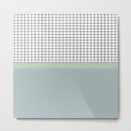 Grid 8 Metal Print