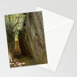 Excavated Etruscan Roads Stationery Cards