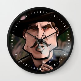 I'm Your Huckleberry (Tombstone) Wall Clock