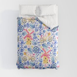 Netherlands Whimsy Comforters