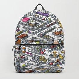 FOOD MAZE Backpack