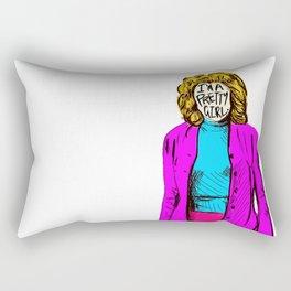Pretty Girl Rectangular Pillow