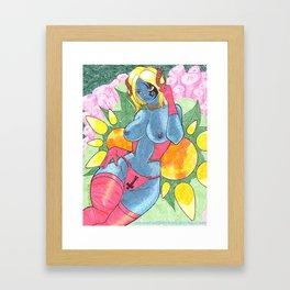 Sexy Skye Framed Art Print
