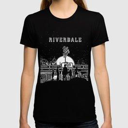 Riverdale Pop's Chock'lit Shoppe Black and White T-shirt