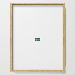 Sweden Stockholm City Vacation Travel Gift Idea Serving Tray