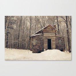 Mission Chapel Canvas Print