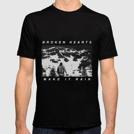 Radiohead Thom Yorke Raining T-shirt