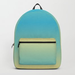SUNSHINE ON THE BEACH Two colors ombre pattern Backpack