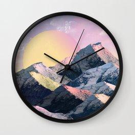 Gelato Sun Wall Clock