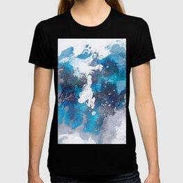 Abstract Ocean Waves T-shirt