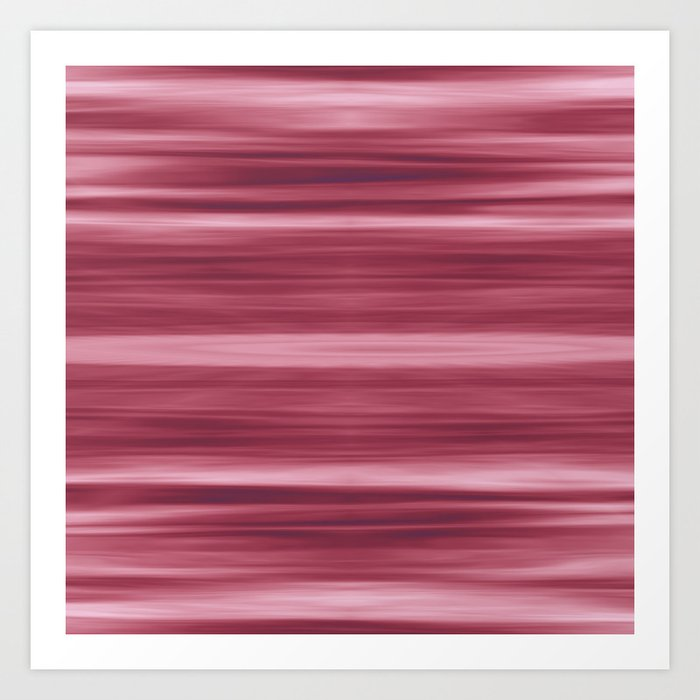 Abstraction Serenity in Rose Art Print