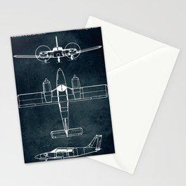 Piper PA-24 SENECA - 1967 Stationery Cards