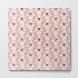 Pink meadow Metal Print