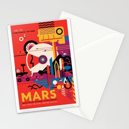 NASA Visions of the Future - Mars Tours Stationery Cards