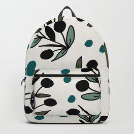 Floral blue Backpack