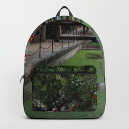 Red London Bridge Backpack