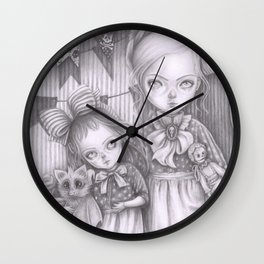 Subrina and Rosabel Wall Clock