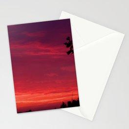 Sunset - July Pink Stationery Cards