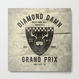 Diamond Damn Grand Prix Metal Print