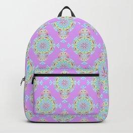 Vintage Moroccan Pattern in Lavender Backpack