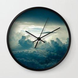 Cloud Scape Wall Clock