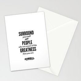 Greatness Stationery Cards