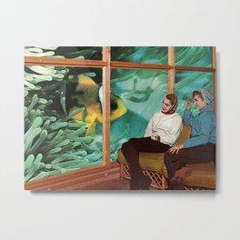 Hello Fish Metal Print