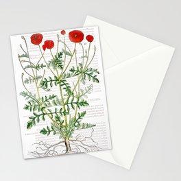 Old Poppy Stationery Cards