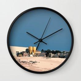 Yellow Tank Wall Clock