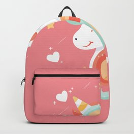 Cutest Unicorn Ever - Pink Backpack