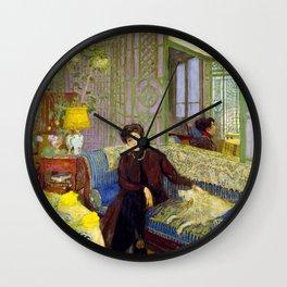 Edouard Vuillard - Marcelle Aron, Madame Tristan Bernard - Digital Remastered Edition Wall Clock