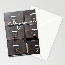 Hasta los cajones Stationery Cards