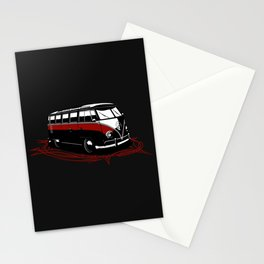 23 Window Bus Stationery Cards