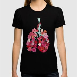 Simply Breathe - Lungs For Whitney T-shirt