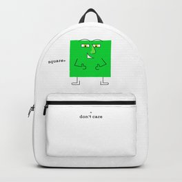 Green Square Guy Backpack